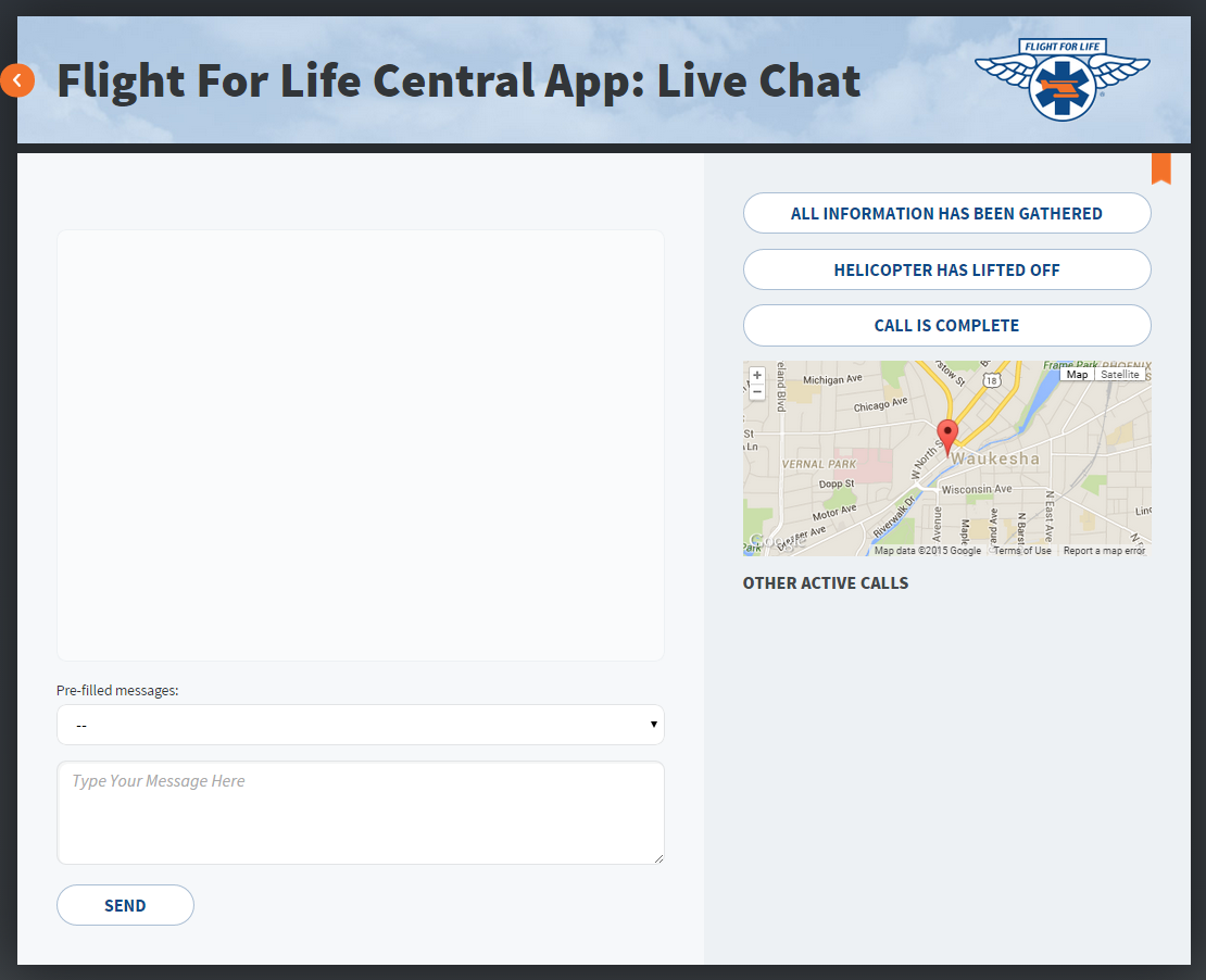 Flight For Life Central App